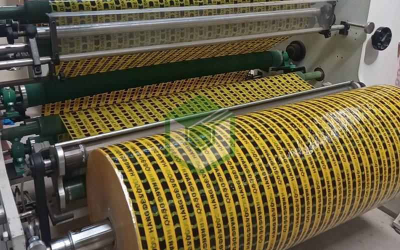 Sản xuất băng keo hàng dễ vỡ